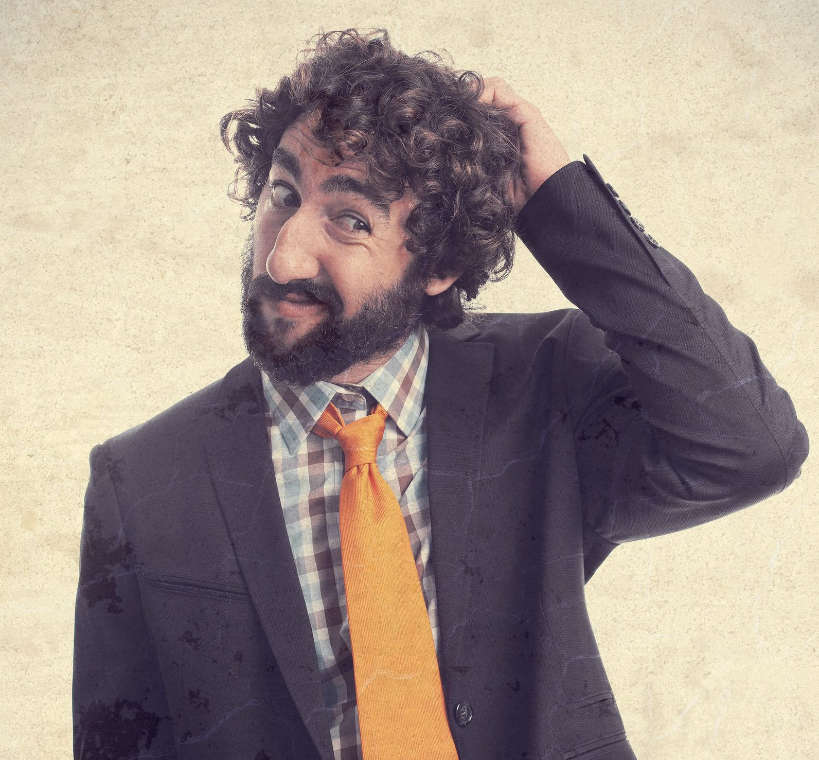 Confused Fin Tubing Salesman